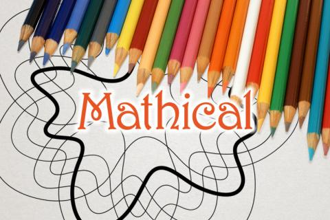Mathical coloring event