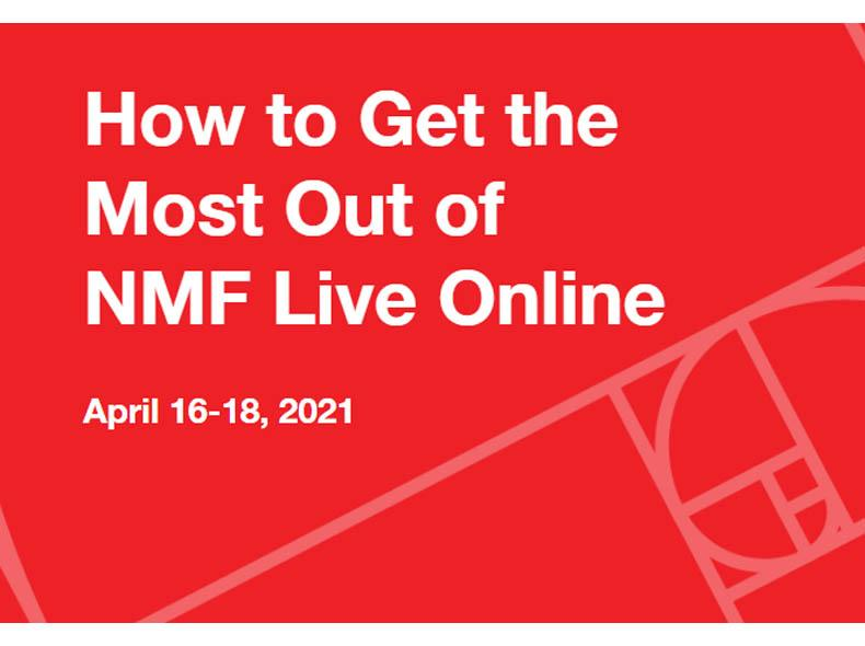 How to Get the Most Out of NMF Live Online